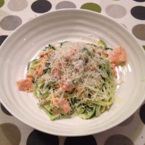 Courgette spaghetti (pastaschmasta)
