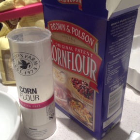 What's with cornflour?