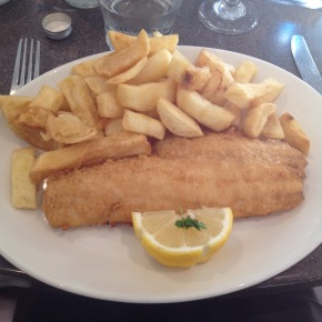 Whitby's Fish and Chip Restaurant:review