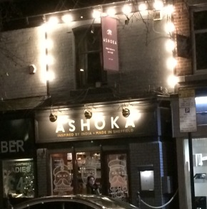 Ashoka: Restaurant review