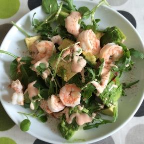 Fast food – prawn cocktail