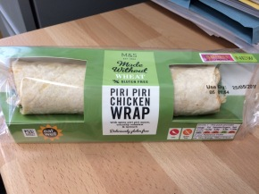 Product review: M&S gluten free wrap