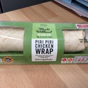 Product review: M&S gluten freewrap