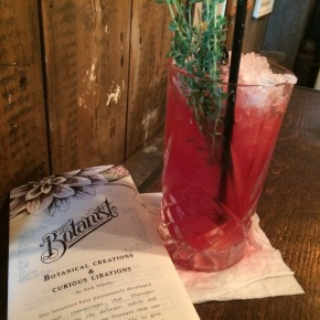 Cocktails and kebabs at The Botanist!