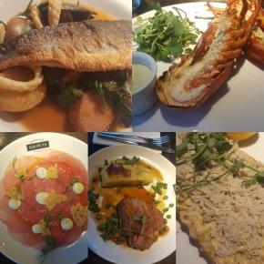 New gluten free menu atBrowns