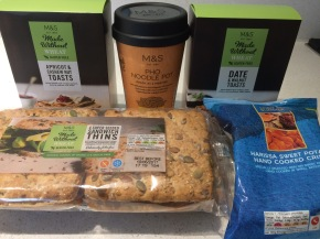 M&S gluten free products