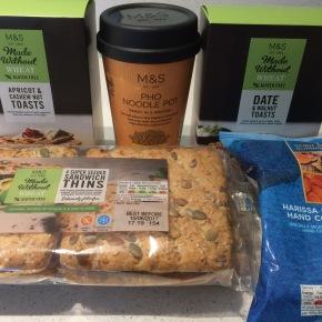 M&S gluten freeproducts