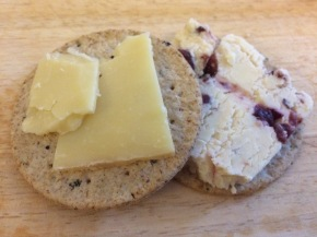Nairn's black pepper crackers
